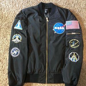 Forever 21 NASA bomber jacket